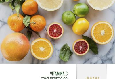 Vitamina C traz benefícios até para o coração