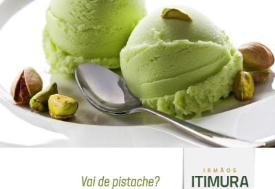 Mais do que sorvete, vai de pistache!