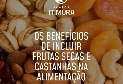 Os benefícios de incluir frutas secas e castanhas na alimentação