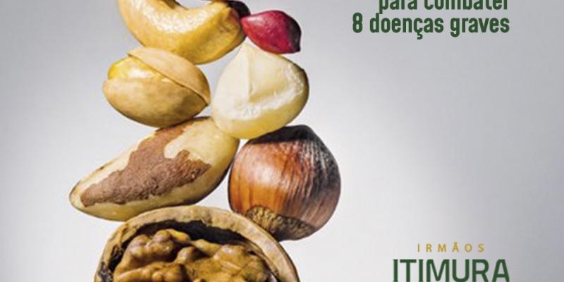 Oleaginosas: um punhado por dia para combater 8 doenças graves